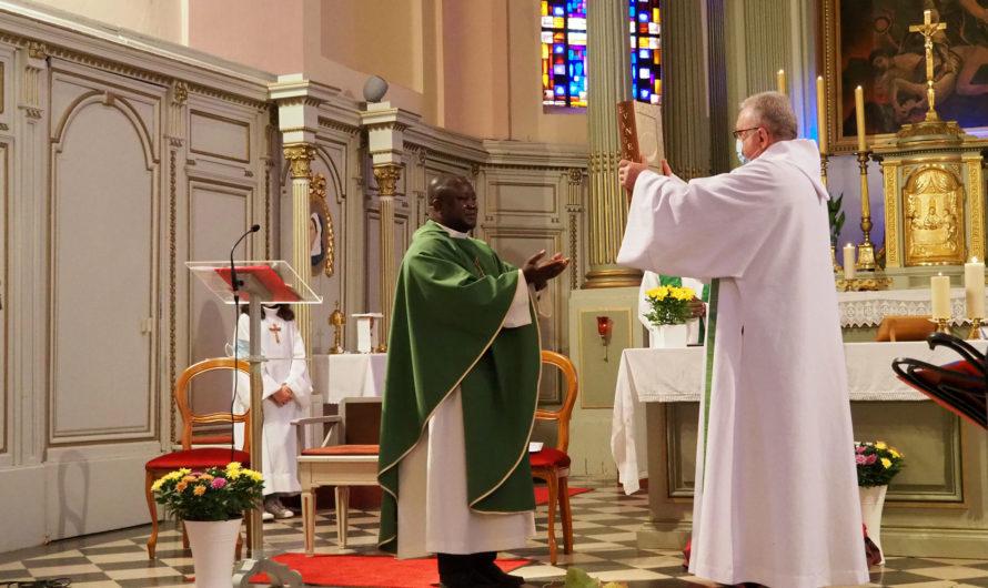 Terre de Missions : le père André N'koy accueilli